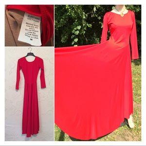 Women's Red Dance Dress Eurotard Balet